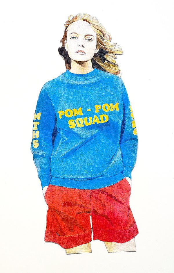 Bruce Pom Pom Squad